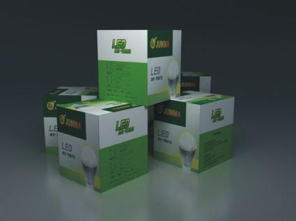 佛山LED照明包装案例