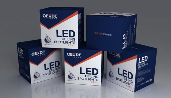 佛山奥格LED照明VI设计案例