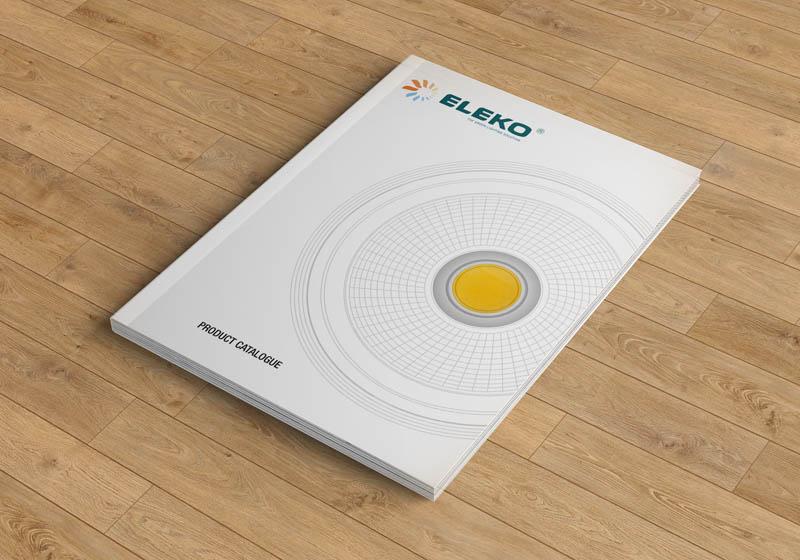 照明公司画册设计案例