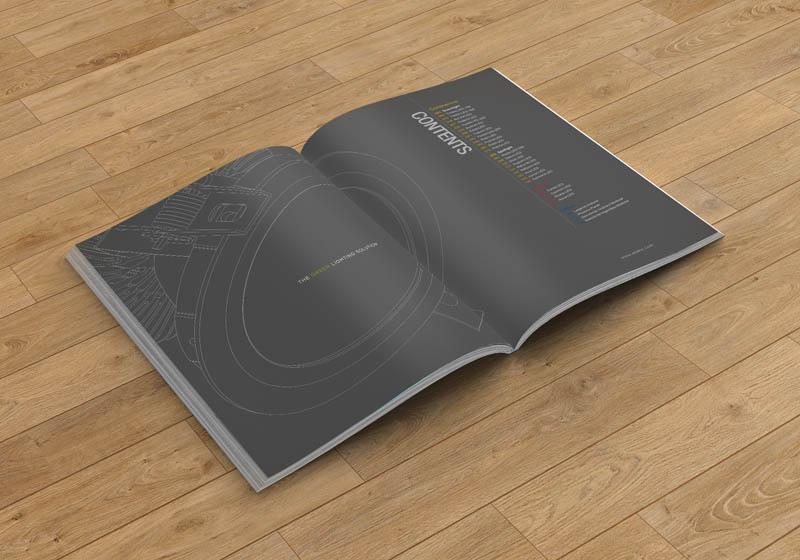 照明画册设计案例效果2