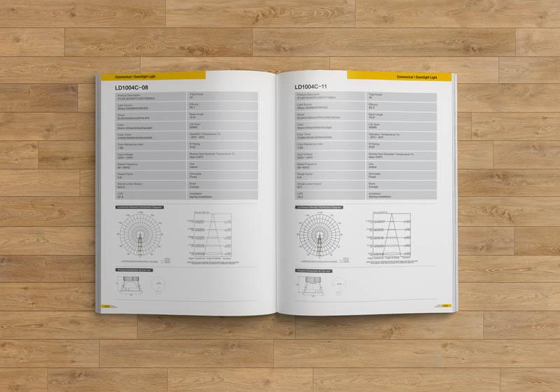 照明画册设计案例效果5